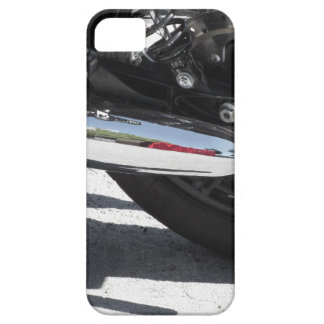 Motorcycle chromed exhaust pipe . Side view Barely There iPhone 5 Case