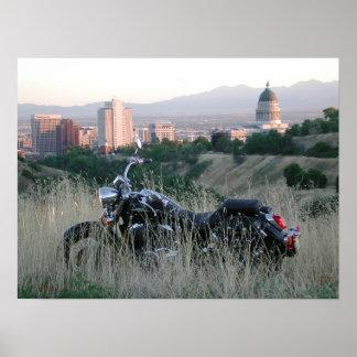 Motorcycle Cruiser Poster