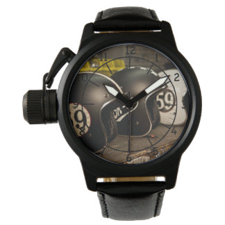 Motorcycle Custom Helmets Watch