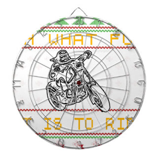 motorcycle design cut dartboard