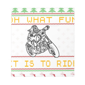 motorcycle design cut notepad