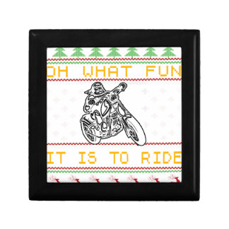 motorcycle design cut small square gift box