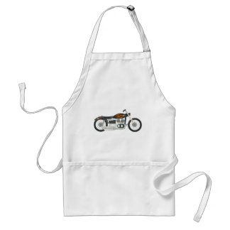 Motorcycle Drawing Standard Apron