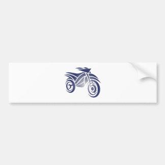 Motorcycle engine bike bumper sticker