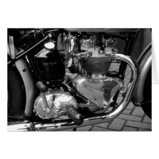 Motorcycle Engine Greeting Cards