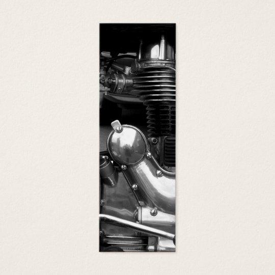 Motorcycle Engine II Bookmark Mini Business Card