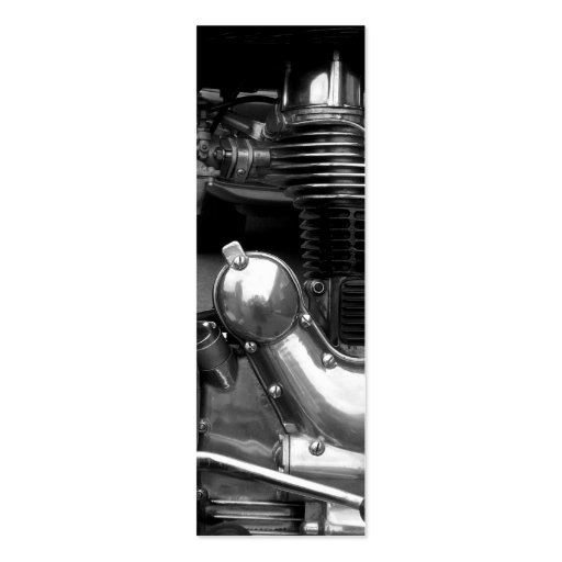 Motorcycle Engine II Bookmark Pack Of Skinny Business Cards