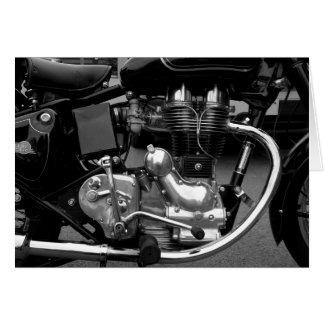 Motorcycle Engine II Greeting Card