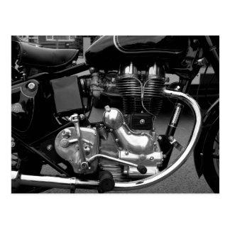 Motorcycle Engine II Postcard