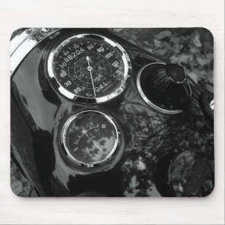 Motorcycle Gauges Mouse Pad