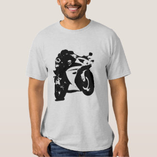 Motorcycle Graphic T Shirt