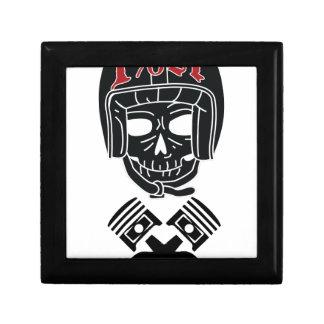 Motorcycle Helmet Skull 1%er Gift Box