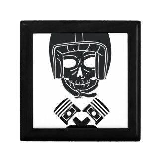 Motorcycle Helmet Skull Gift Box
