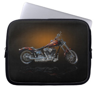 Motorcycle Laptop Computer Sleeve