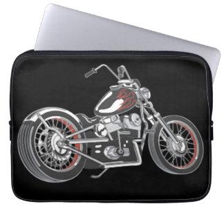 Motorcycle. Laptop Sleeves
