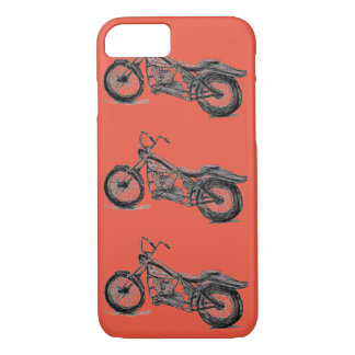 Motorcycle Mania on iPhone 7 Barely There Case