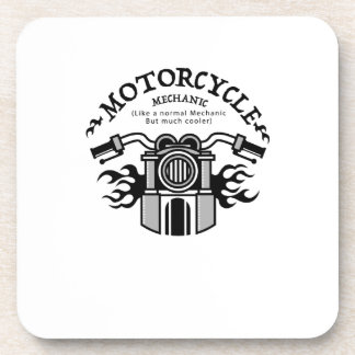 Motorcycle Mechanic Gift Bike Mechanic Biker Coaster