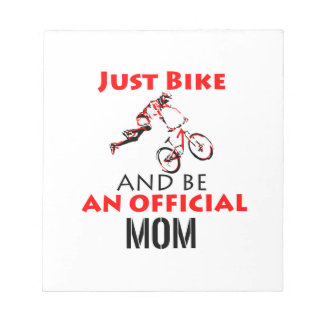 motorcycle mom notepad