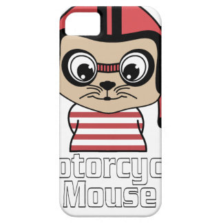 Motorcycle Mouse, rate cartoon vintage design Case For The iPhone 5