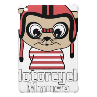 Motorcycle Mouse, rate cartoon vintage design iPad Mini Case