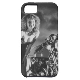 Motorcycle Pinup Girl Case For iPhone 5/5S