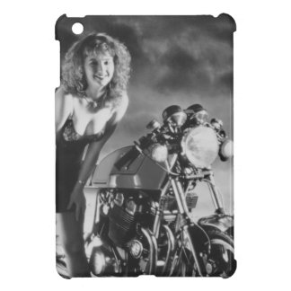 Motorcycle Pinup Girl iPad Mini Cases
