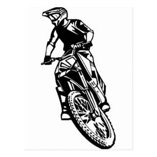 Motorcycle Postcard