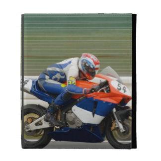 Motorcycle Race iPad Folio Cover