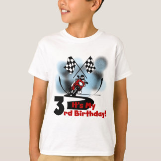 Motorcycle Racing 3rd Birthday Tshirts