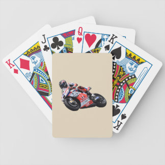 MotorCycle Rider Bicycle Playing Cards