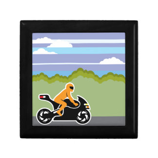 Motorcycle riding gift box
