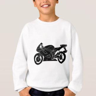 motorcycle silhouette sweatshirt