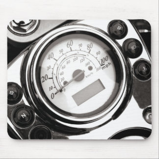 Motorcycle Speedometer Mouse Pad