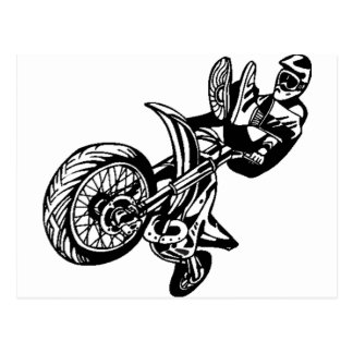 Motorcycle Sport Bikes Postcard