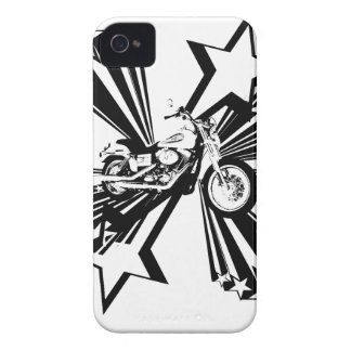 Motorcycle Stars iPhone 4 Cases