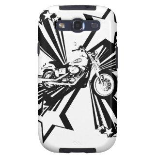 Motorcycle Stars Samsung Galaxy SIII Cases
