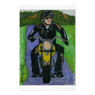 motorcycle stationery