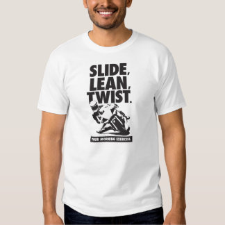 Motorcycle T-Shirt - Slide, Lean, Twist