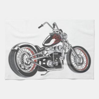 Motorcycle. Tea Towel
