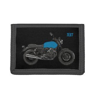 Motorcycle Tri-fold Wallet