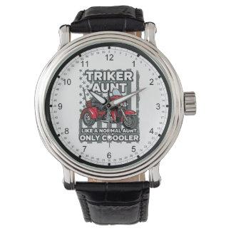 Motorcycle Triker Aunt Watch
