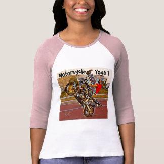 Motorcycle Yoga 3/4 Sleeve T-Shirt