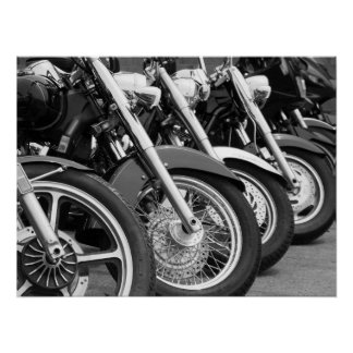 Motorcycles I Poster