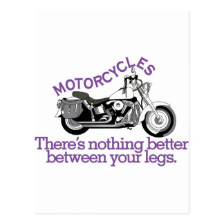 Motorcycles Postcard