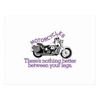 Motorcycles Postcard