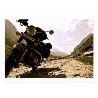 Motorcycling in Ladakh Postcard