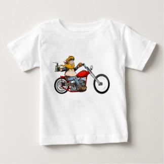 Motorcyclist Biker motor bike Baby T-Shirt