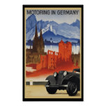 Motoring In Germany Print