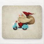 Motorised Santa Claus Mousepad