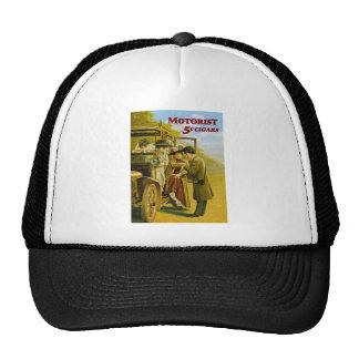 Motorist Cigars Advertisement - Vintage Mesh Hats